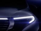 El Mercedes EQC, primer SUV eléctrico de la marca, se insinúa antes de su presentación
