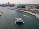 Energy Observer, la primera embarcación de hidrógeno en Valencia