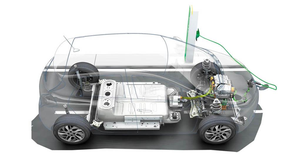 Renault baterías eléctricos