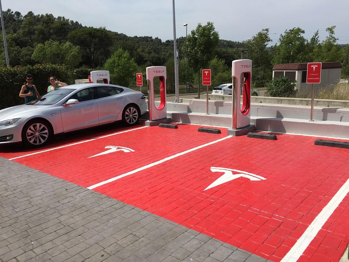 Tesla supercargadores