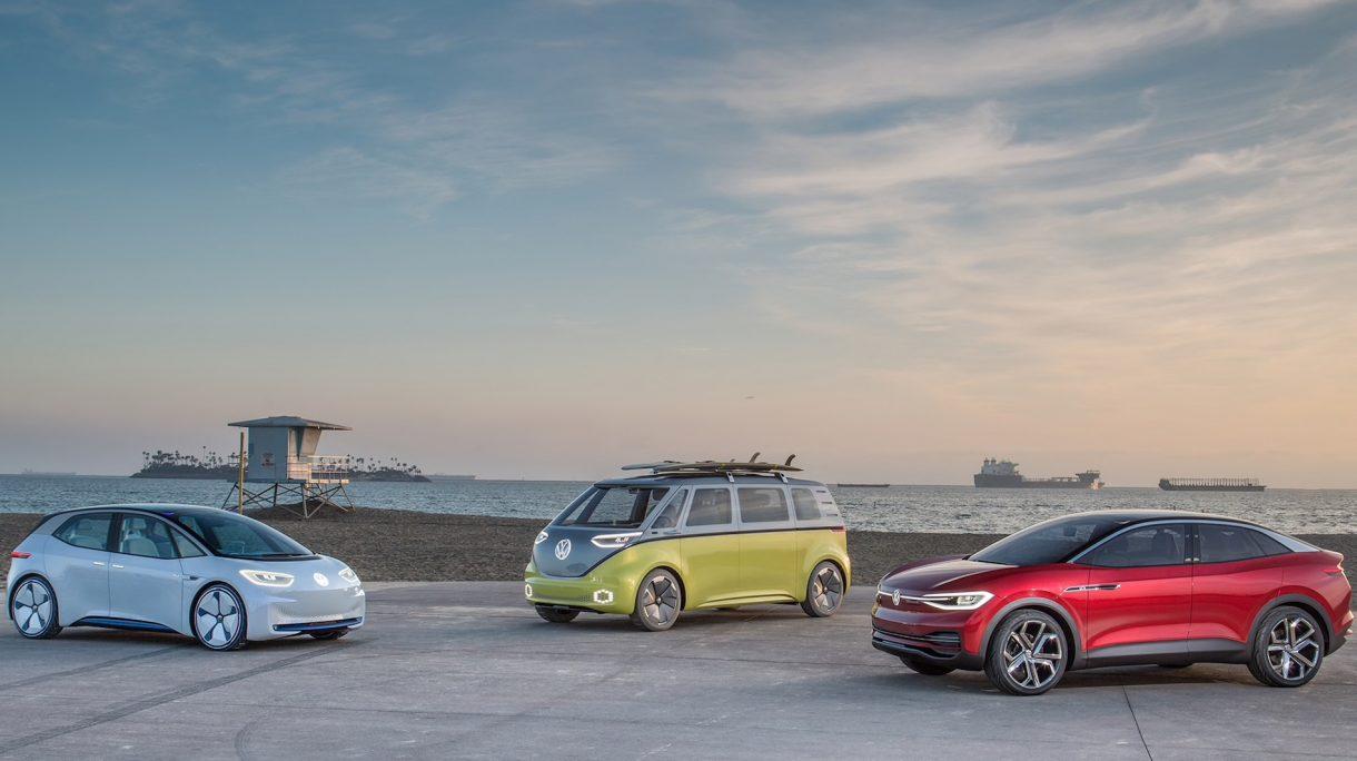 La familia ID., los coches eléctricos de Volkswagen, se suma al reto de la sostenibilidad durante todo su ciclo vital