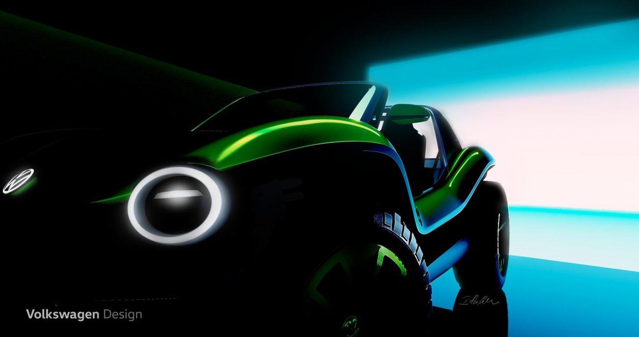 Volkswagen e-Buggy concept car