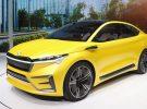 Skoda presenta su concept car eléctrico Vision iV en el Salón del Automóvil de Ginebra