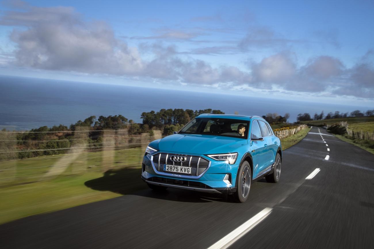 Audi e-tron aceite