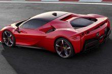 Ferrari presenta su superdeportivo híbrido enchufable: el SF90 Stradale