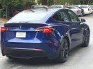 Cazado un prototipo del Tesla Model Y en un cargador de ChargePoint