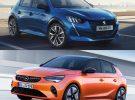 Peugeot e-208 VS Opel Corsa-e, un duelo electrizante