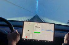 Tesla quiere que sus coches circulen autónomamente por túneles subterráneos