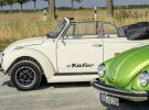 El Volkswagen e-Beetle revive gracias a las piezas eléctricas del Volkswagen e-Up!