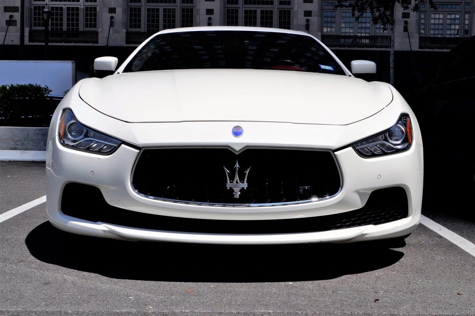 Maserati Vista Frontal