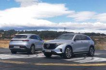 Mercedes-Benz EQC, a prueba el primer coche eléctrico de la marca de la estrella