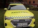 El Audi e-tron es reconvertido en vehículo de emergencias en Noruega