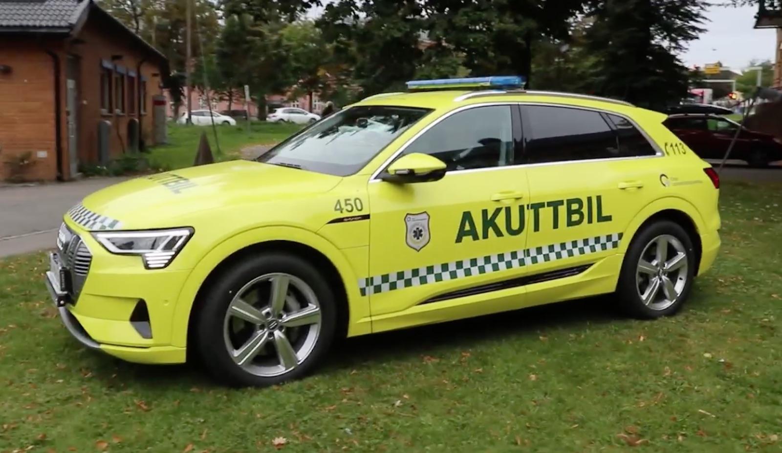 Audi Etron Emergencias Lateral