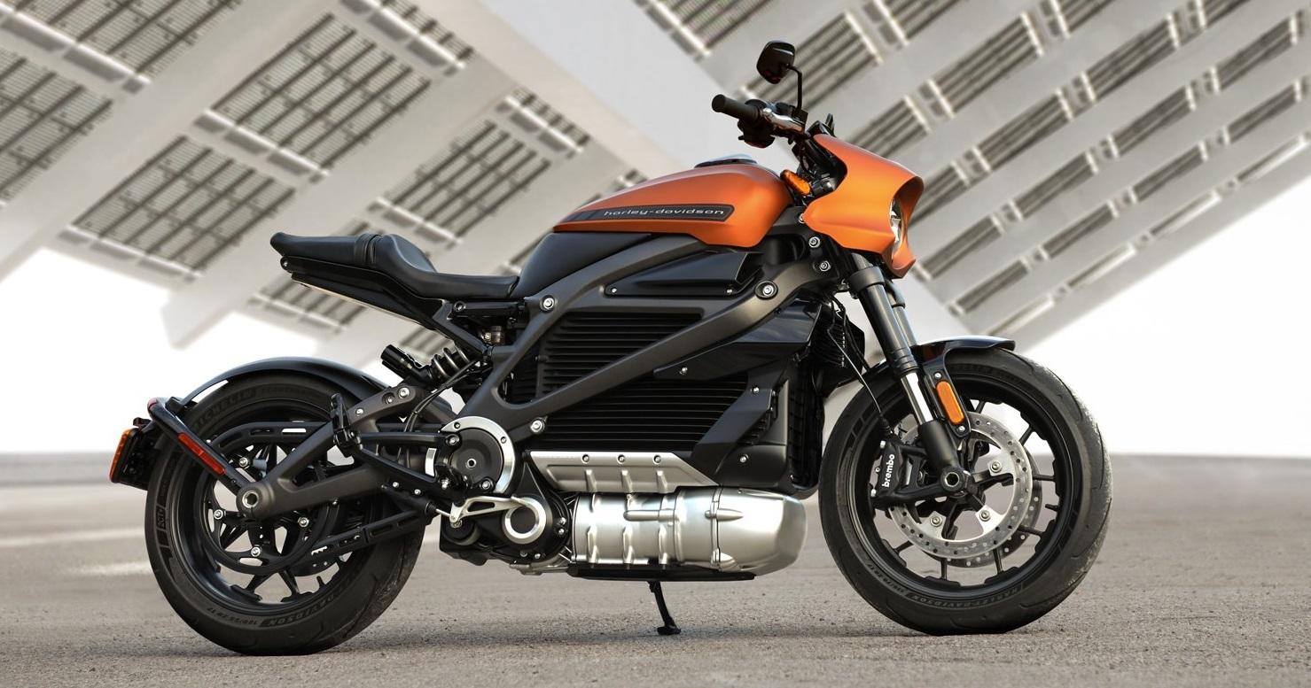 Harley Davidson Moto 100% Eléctrica 1