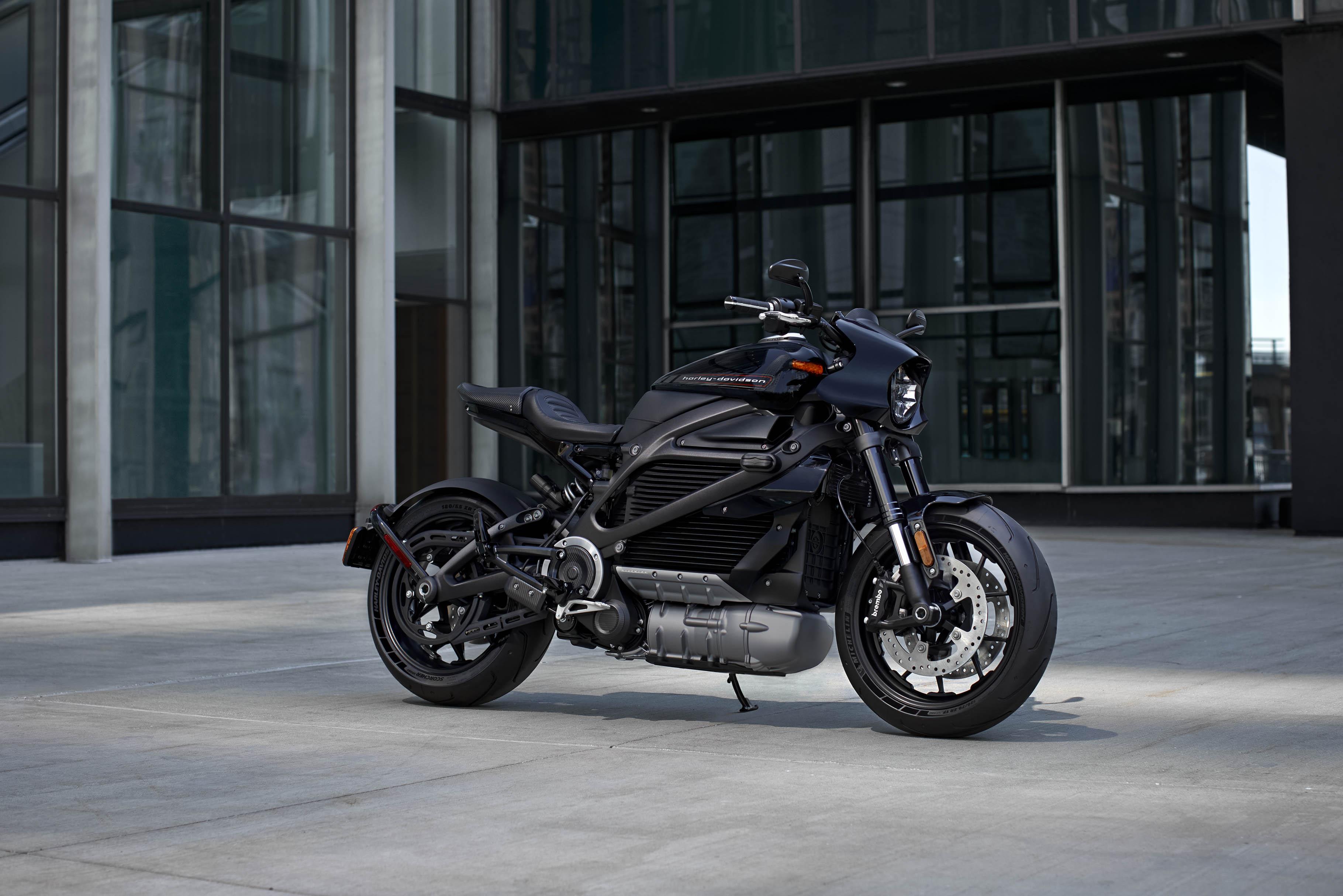 Harley Davidson Moto 100% Eléctrica 2