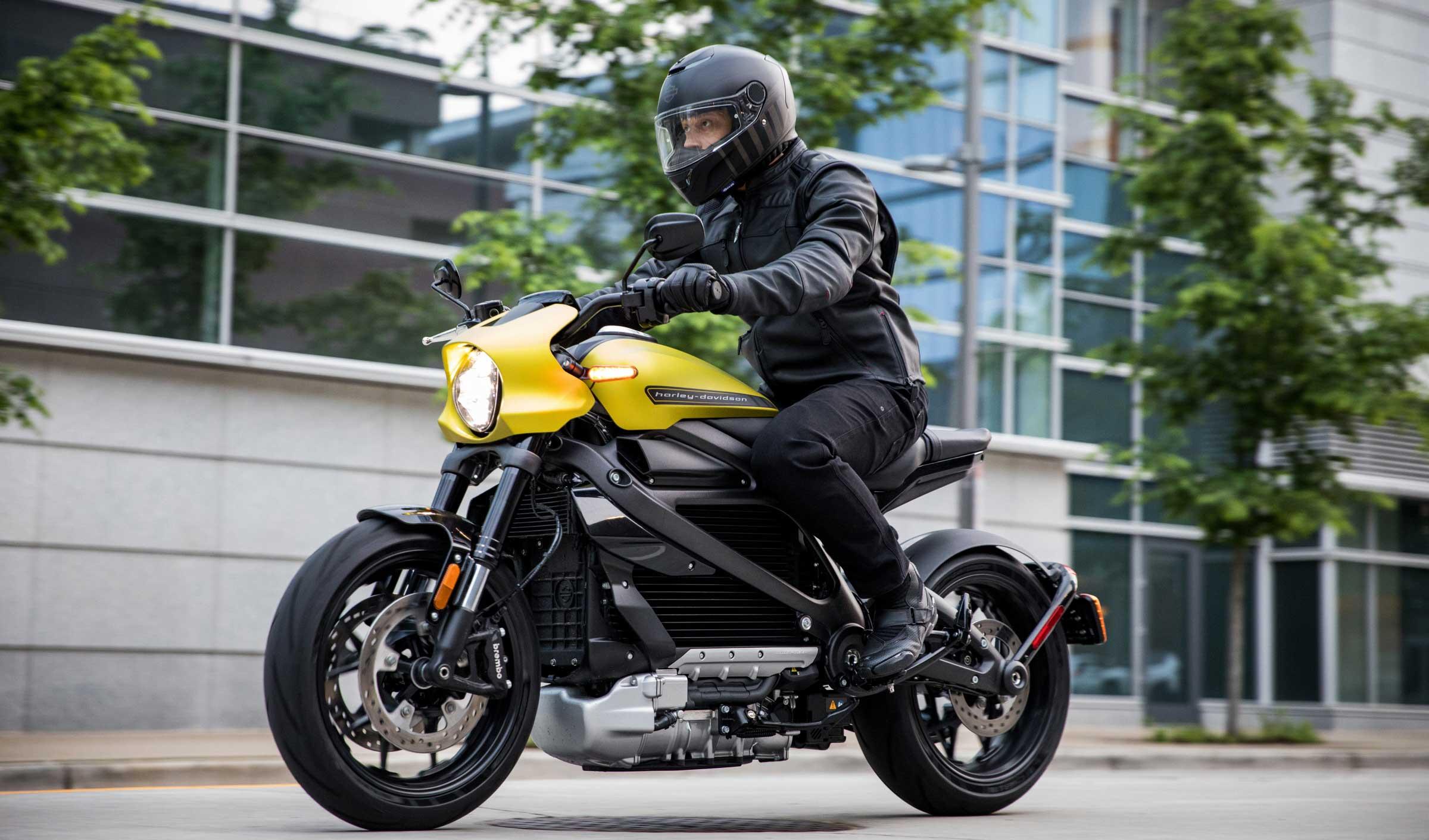Harley Davidson Moto 100% Eléctrica 3