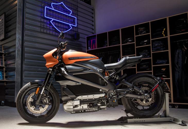 Harley Davidson Moto 100% Eléctrica 4
