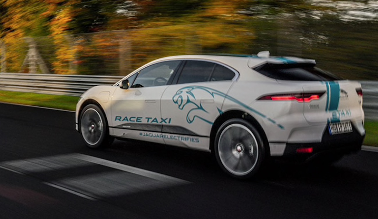 Jaguar Race Taxi