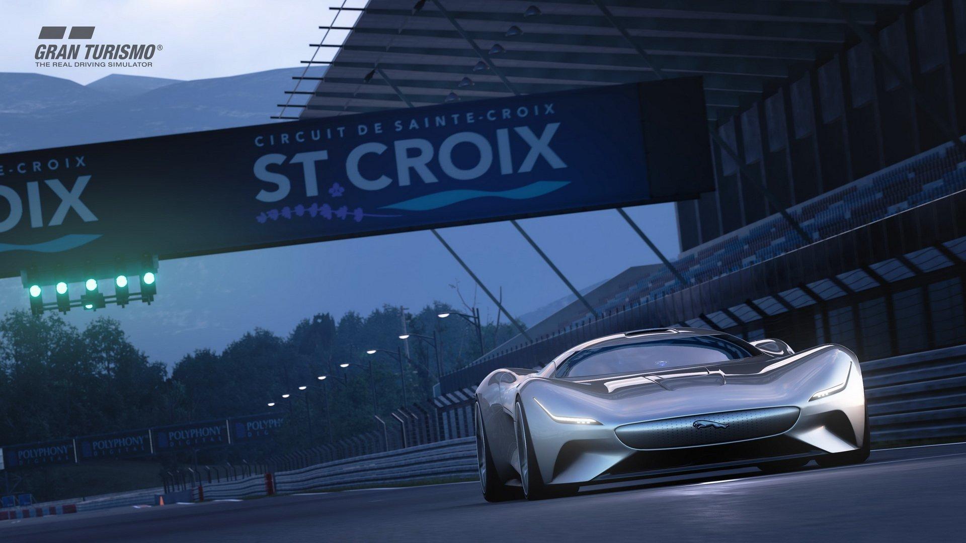 Jaguar Vision Gran Turismo Coup 07