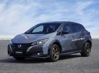 Nissan Builds Ev Test Car With Twin Motor All Wheel Control Technology