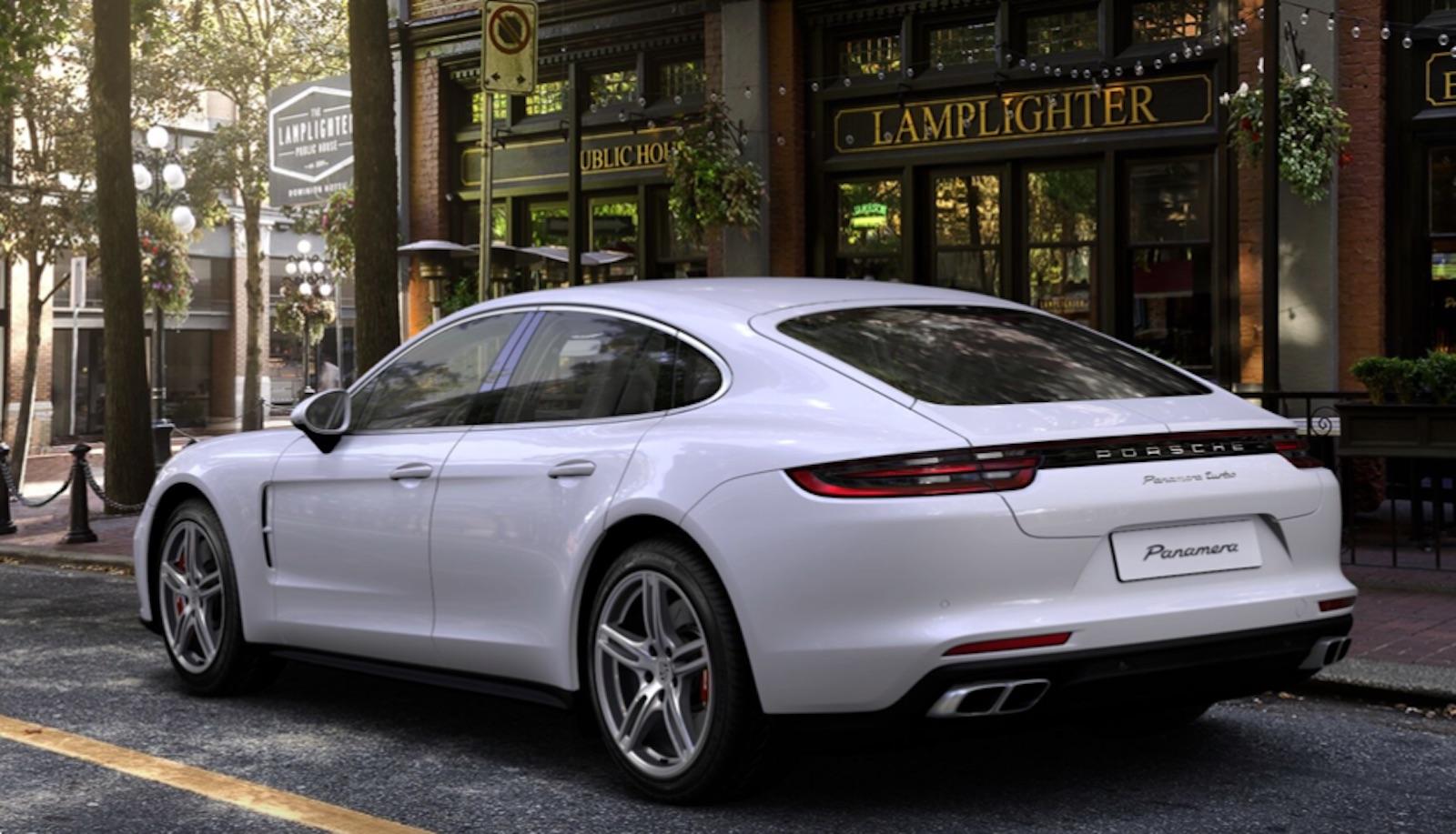 Porsche Panamera White