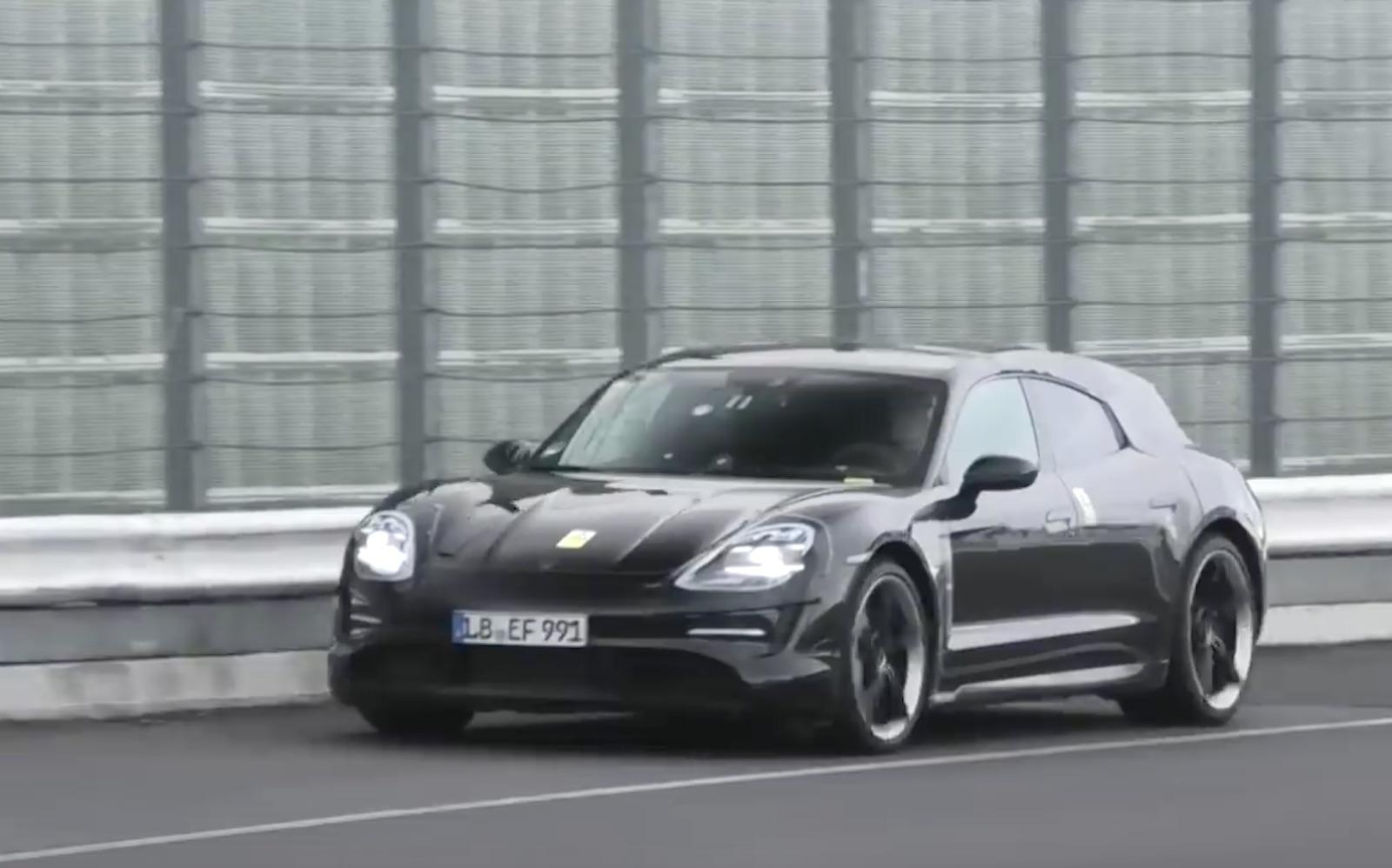 Porsche Taycan Crossturismo Prototipo Frontal