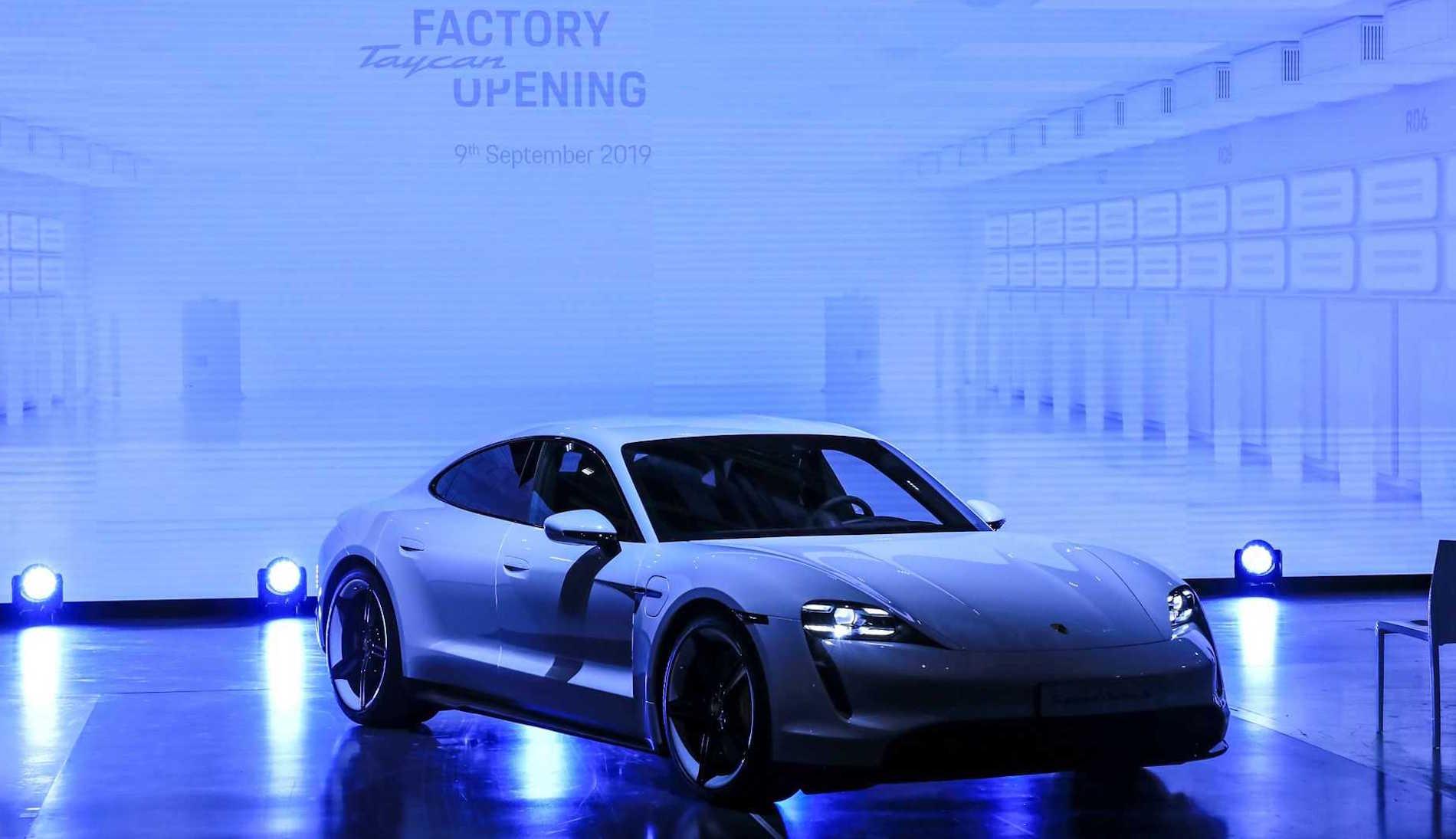 Porsche Taycan Inicio Produccion