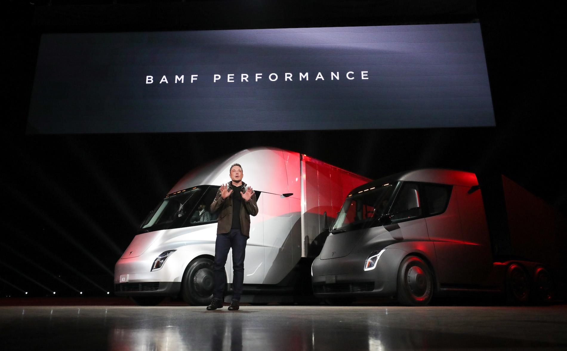 Tesla Semi Elon
