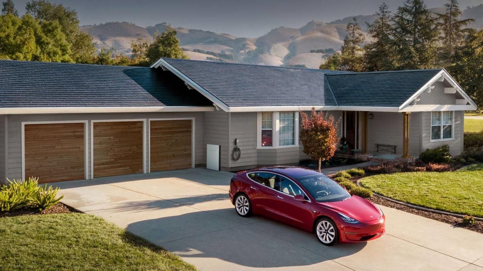 Tesla Techo Solar Casas (2)