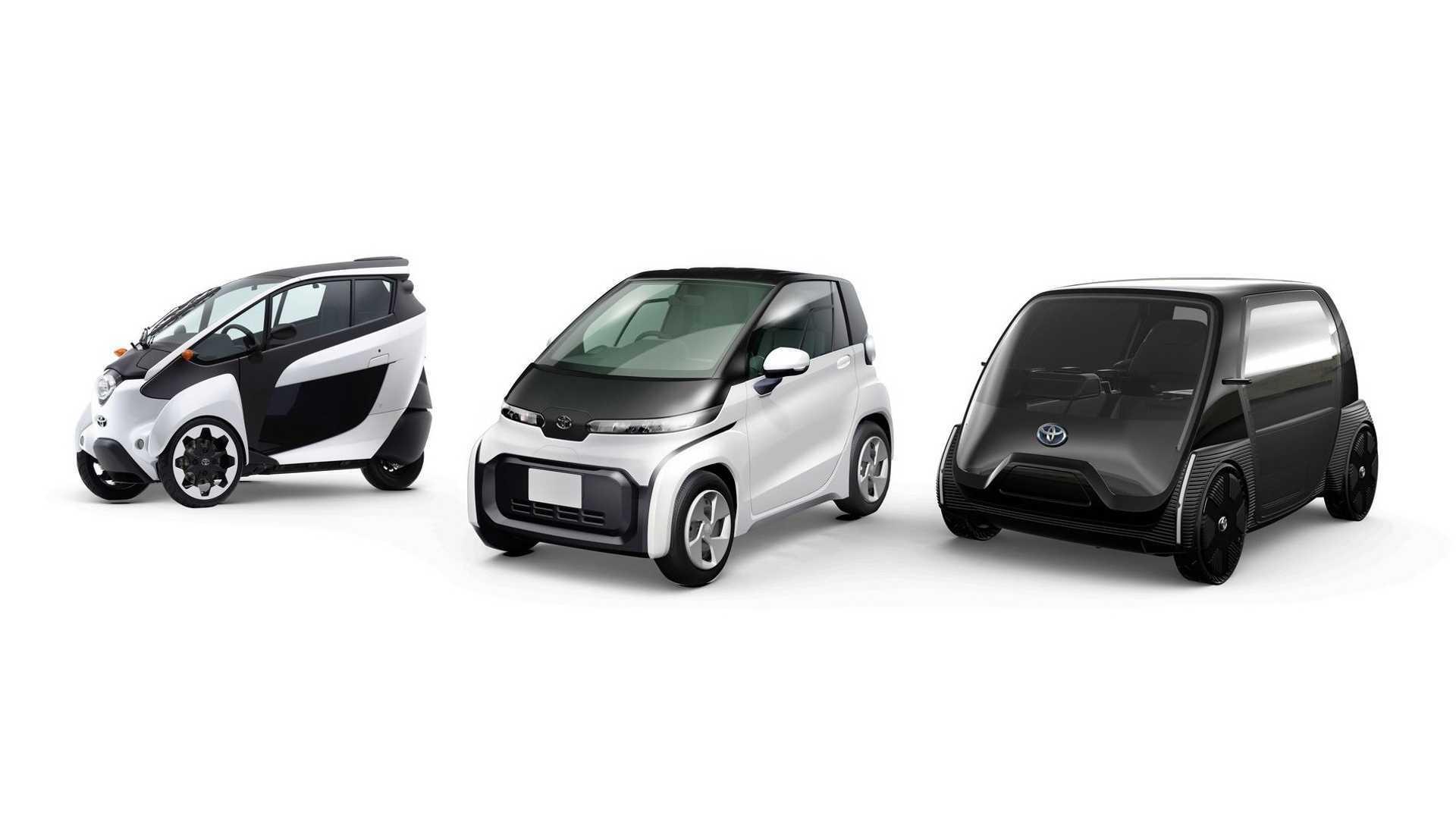 Toyota Ultra Compactos Conceptos