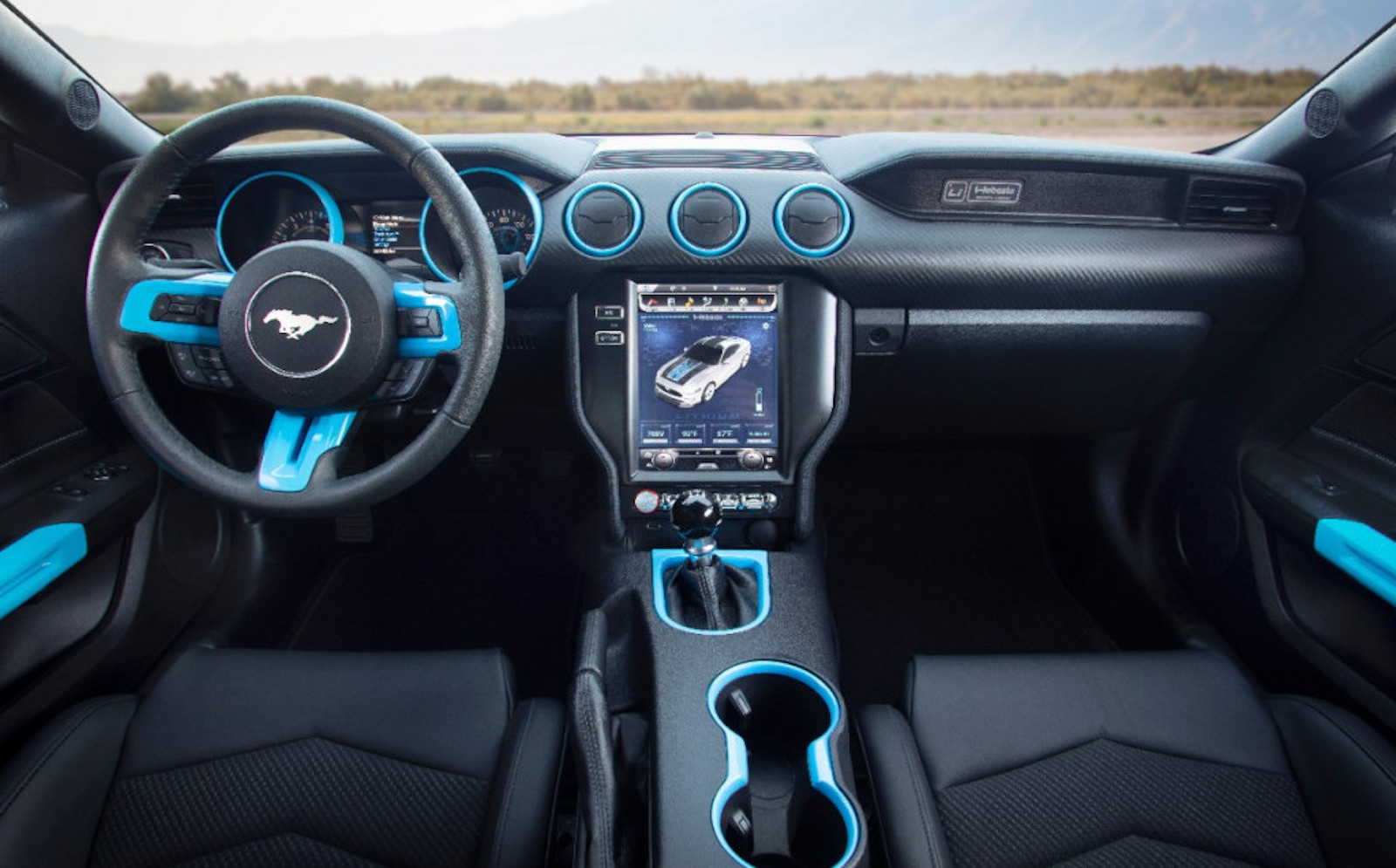 Ford Mustang Lithium Interior