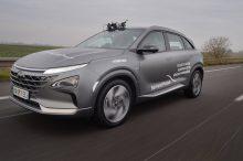 El Hyundai Nexo bate un récord mundial de distancia