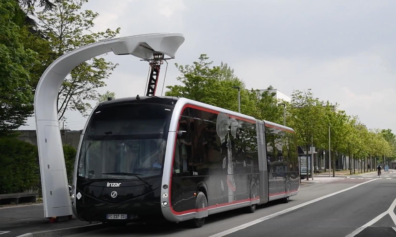 Irizar Bus Charging