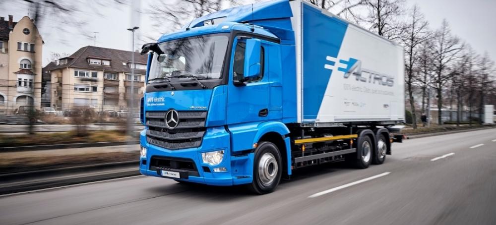 Merces Eactros Camion Electrico Futuro De Los Camiones Eléctricos 2