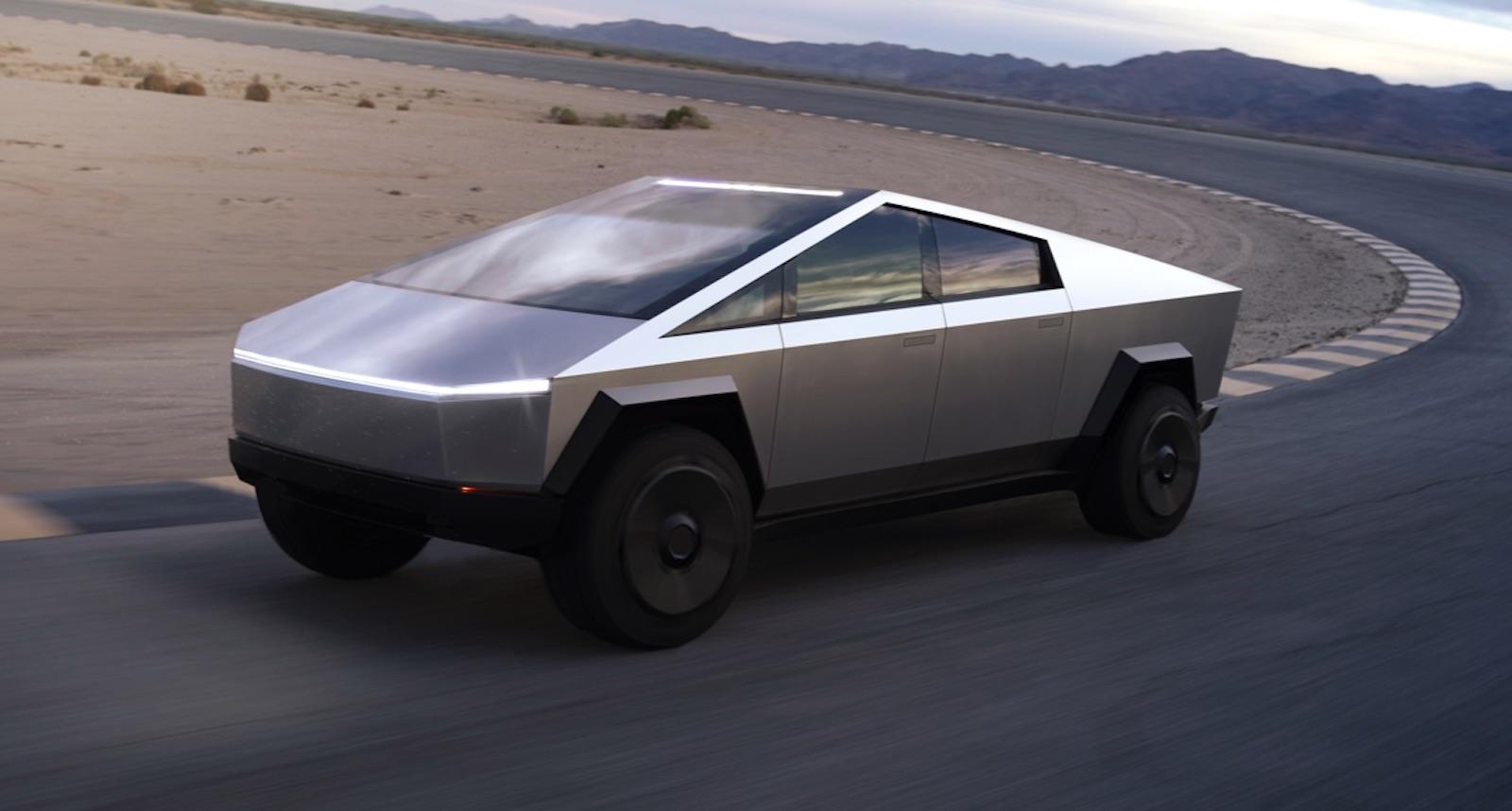 Tesla Cybertruck Road