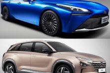 Toyota Mirai o Hyundai Nexo ¿cuál es mejor coche con pila de hidrógeno?