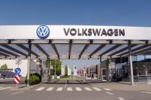 Sale de la planta de Volkswagen en Zwickau el último vehículo con motor de combustión