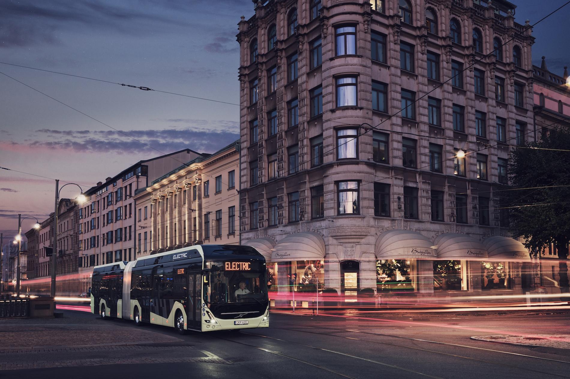 Volvo autobuses eléctricos Europa