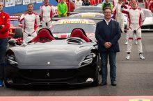 Camilleri declara que el Ferrari eléctrico llegará pero no antes de 2025
