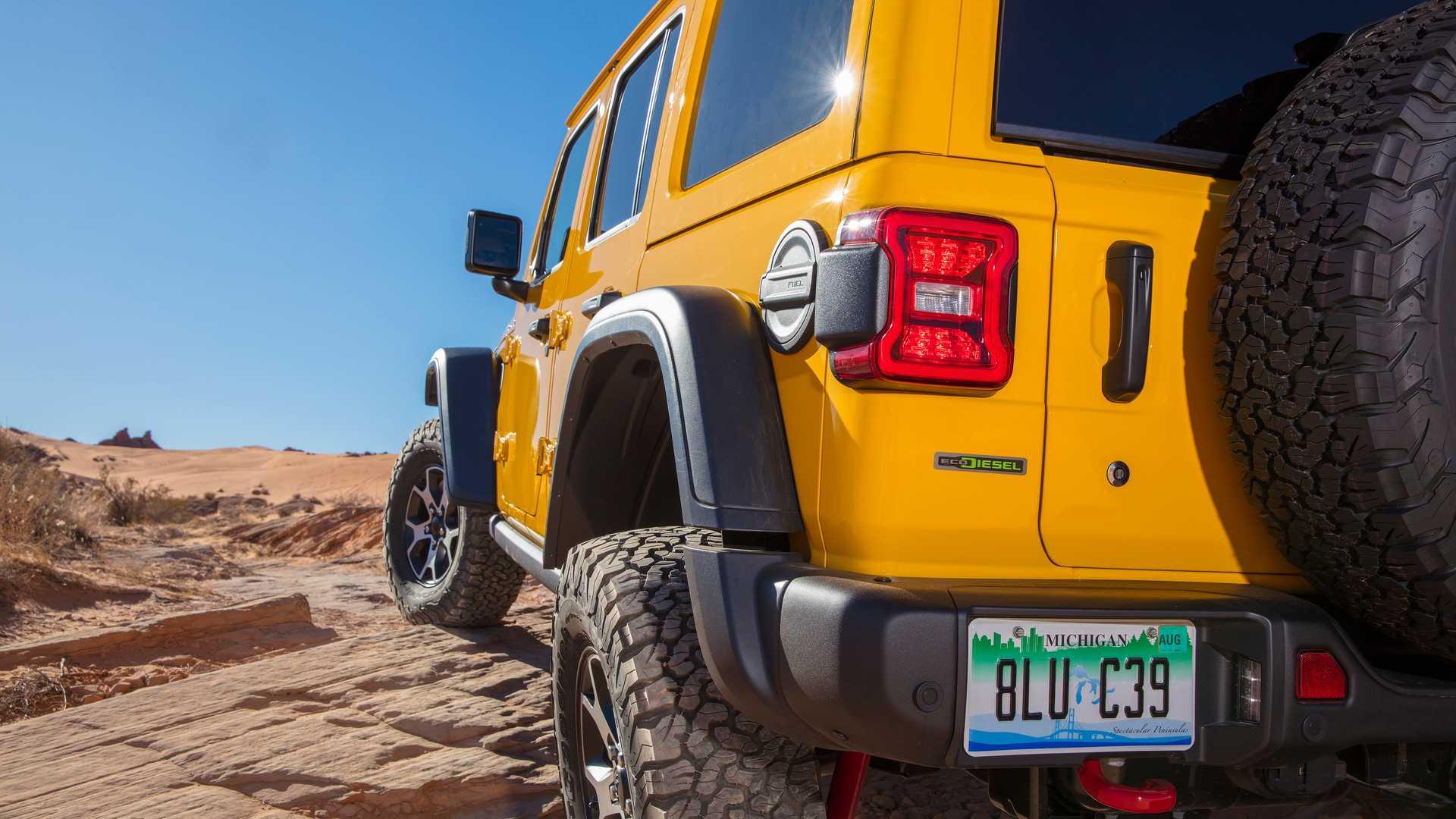 Jeep Wrangler Hibrido Enchufable Electrico 2