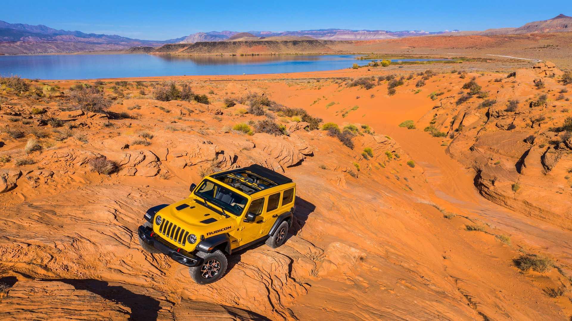 Jeep Wrangler Hibrido Enchufable Electrico 3
