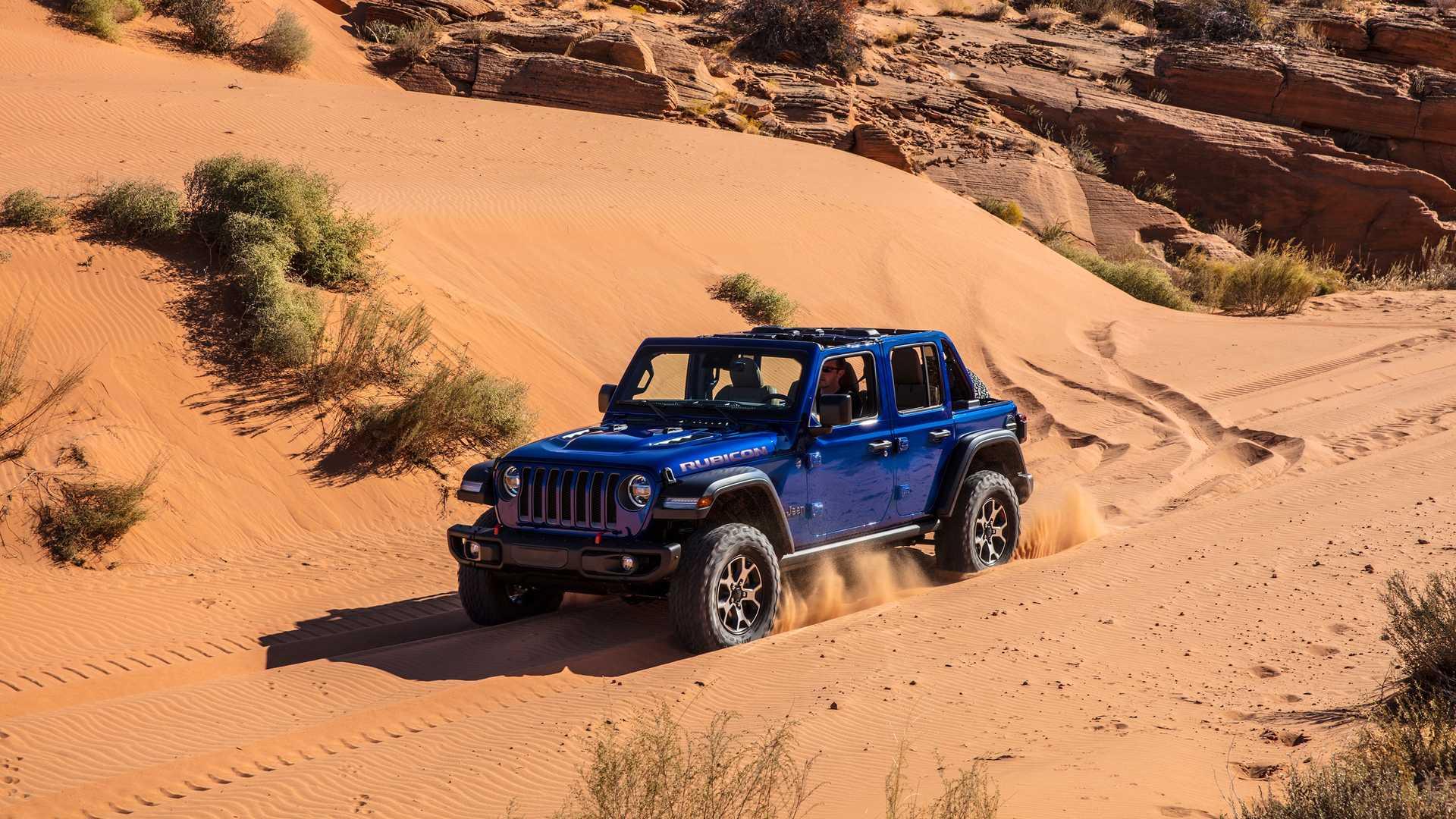 Jeep Wrangler Hibrido Enchufable Electrico 4