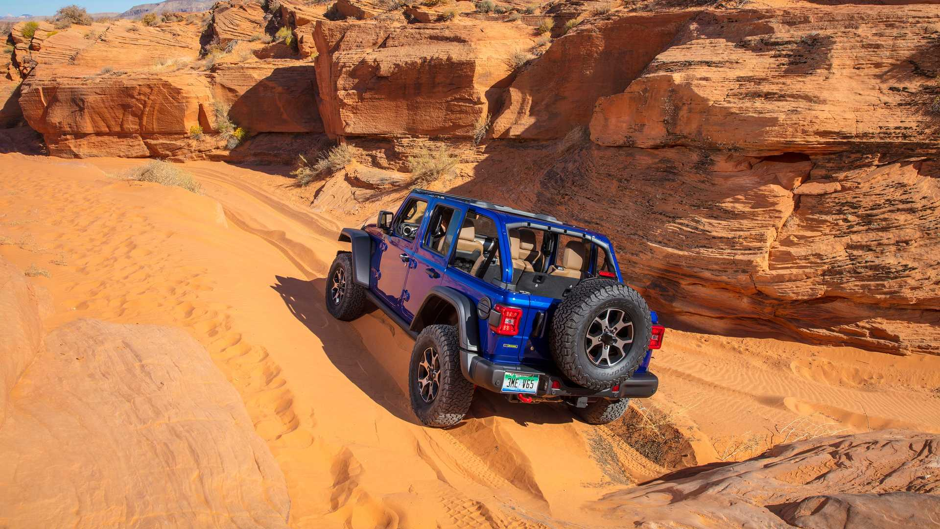 Jeep Wrangler Hibrido Enchufable Electrico 5