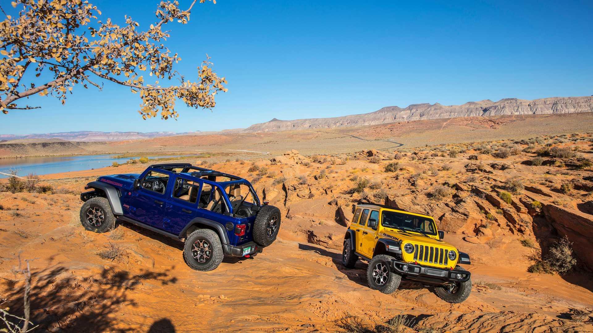 Jeep Ya Trabaja En Una Version Totalmente Electrica Del Mitico