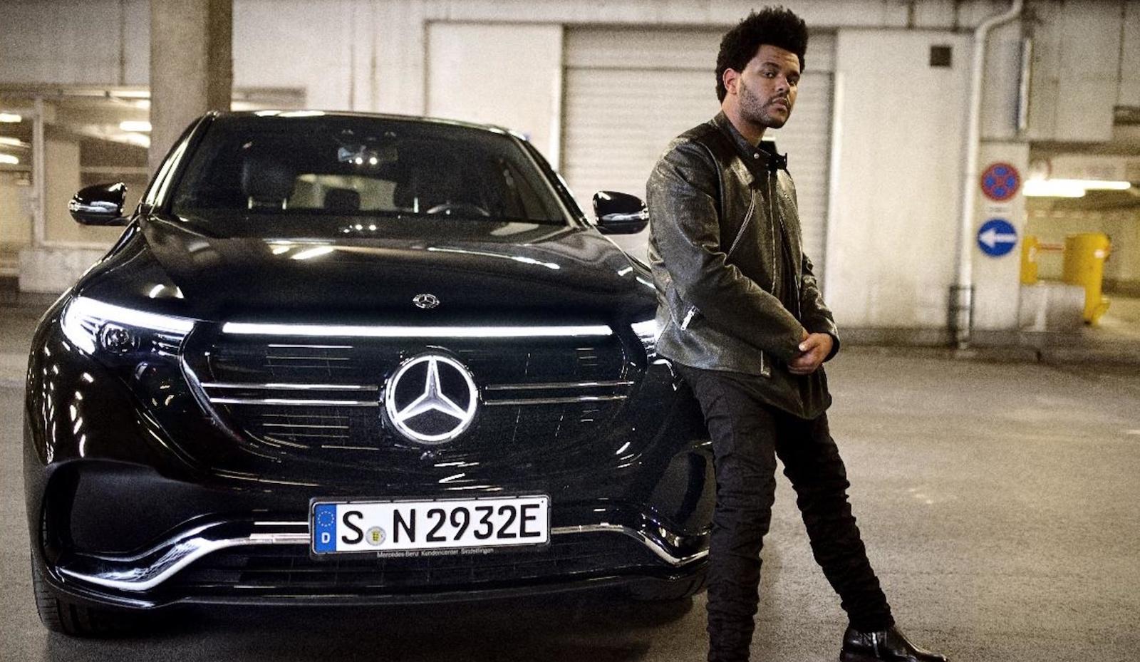Mercedes Benz Eqc Front