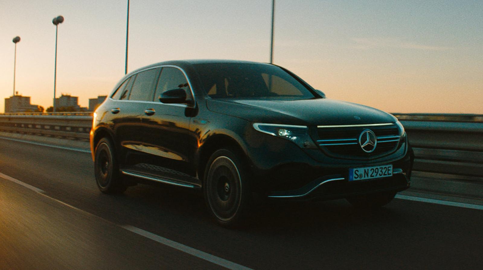 Mercedes Benz Eqc Road