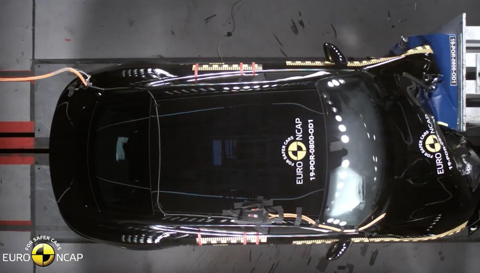 Porsche Taycan Euroncap