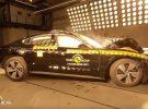 El Porsche Taycan logra 5 estrellas Euro NCAP en seguridad