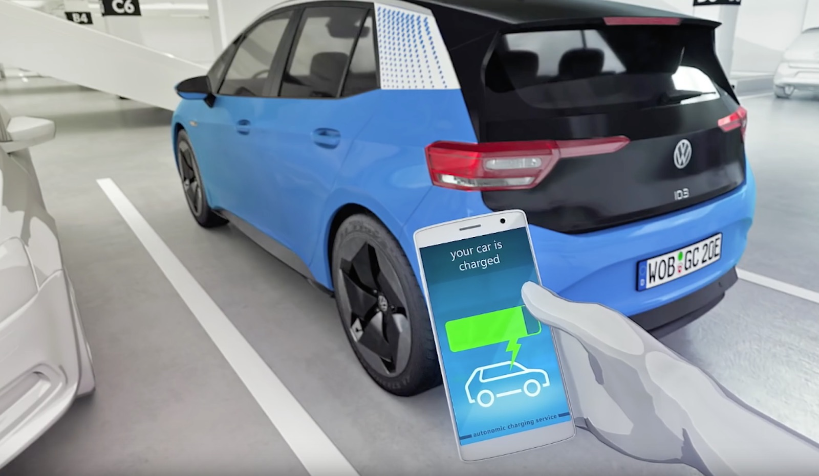 Volkswagen Robot Id3 Charged