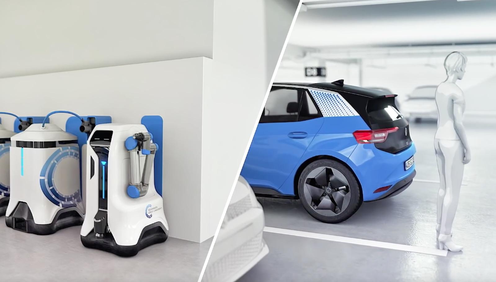 Volkswagen Robot Id3